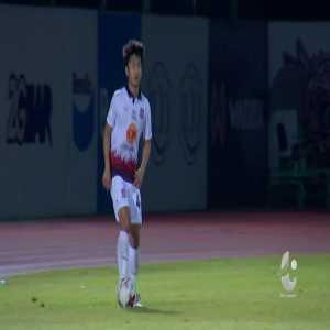 Prachuap 2-(2) Trat FC - Sittichok Paso goal from halfway line