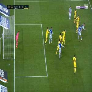 Real Sociedad [1]-1 Villarreal - Mikel Oyarzabal penalty 33'