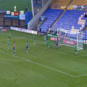 Shrewsbury 1-0 Oxford City - Daniel Udoh 108'
