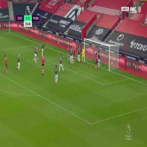 Southampton [1] - 0 Manchester United - Jan Bednarek 24'