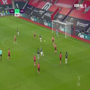 Southampton 2 - [1] Manchester United - Bruno Fernandeds 60'