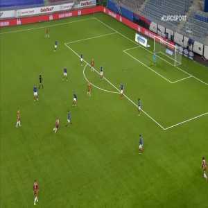 Vålerenga 0-1 Sarpsborg 08 - Ole Jørgen Halvorsen 19'