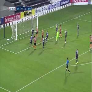Chiangrai United (1)-2 Melbourne Victory - Siwakorn Titrakul nice free kick goal