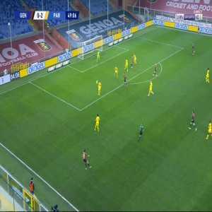 Genoa [1]-2 Parma - Eldor Shomurodov 50'