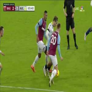 Grealish skill vs West Ham