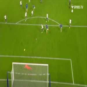 Hugo Lloris excellent save vs Chelsea 81'