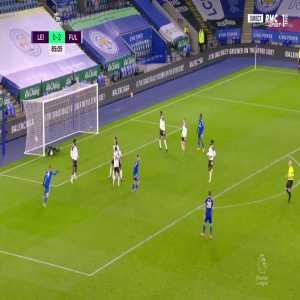 Leicester [1] - 2 Fulham - Harvey Barnes 86'