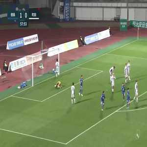 Tokushima Vortis (2)-0 Machida Zelvia - Kazuki Nishiya amazing long shot goal (great goal)
