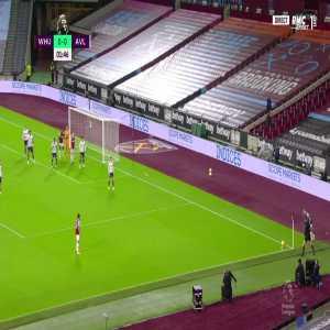 West Ham [1] - 0 Aston Villa - Ogbonna 2'