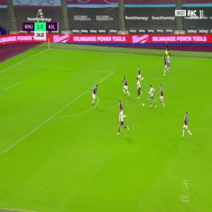 West Ham 1 - [1] Aston Villa - Jack Grealish 25' (Nice Goal)