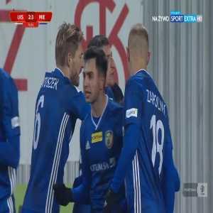 ŁKS Łódź 2-[3] Miedź Legnica - Joan Román 75' (Polish I liga)