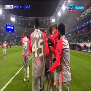 Lokomotiv Moskva 0-1 Red Bull Salzburg - Mërgim Berisha 28'