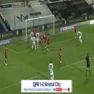 QPR 1-0 Bristol City - Robert Dickie 12'