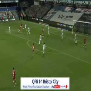 QPR 1-[1] Bristol City - Nahki Wells 40'