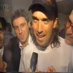 Simulcast highlights of the last round of Serie A season 2000/01