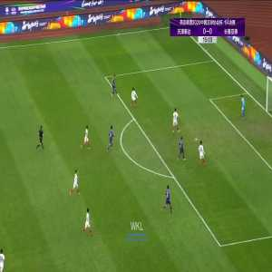 Tianjin Teda (1)-0 Changchun Yatai - Tiquinho Soares 1st goal