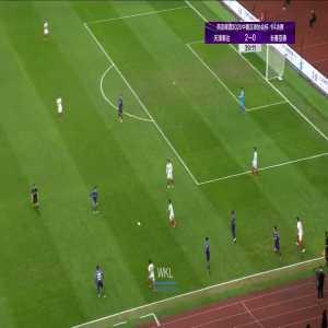 Tianjin Teda (3)-0 Changchun Yatai - Tiquinho Soares 2nd goal