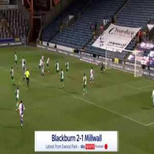 Blackburn [2]-1 Millwall - Adam Armstrong 90'+1'