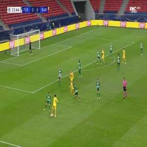 Ferencvaros 0-1 Barcelona - Antoine Griezmann 14'