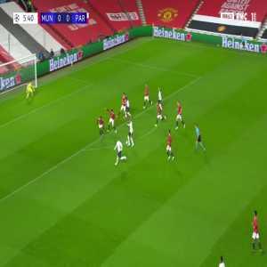 Manchester United 0 - [1] PSG - Neymar Jr 6'