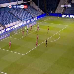 Sheffield Wednesday 1-0 Reading - Callum Paterson 13'