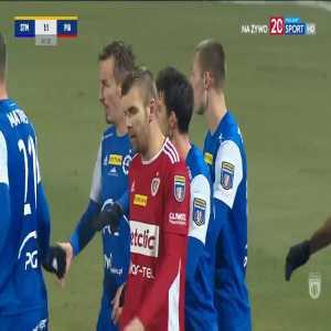 Stal Mielec [1]-1 Piast Gliwice - Robert Dadok 45' (Polish Cup)