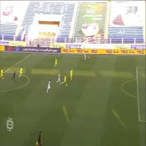 Abha [1] - 1 Al Nassr — Carlos Strandberg 55' — (Saudi Pro League - Round 6)