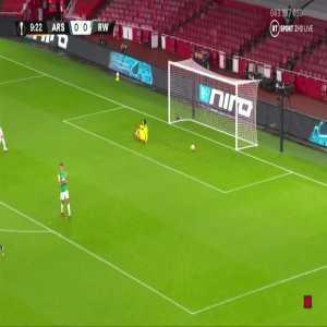 Arsenal [1] - 0 Rapid Wien - Alexandre Lacazette 10' (Great Goal)