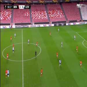 Benfica 2-0 Lech - Darwin Nunez 57'