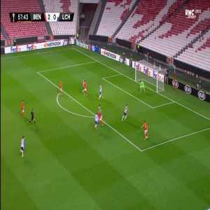 Benfica 3-0 Lech - Pizzi 58'
