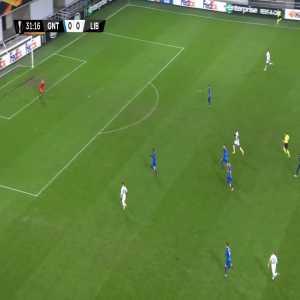 Gent 0-1 Slovan Liberec - Kamso Mara 32'