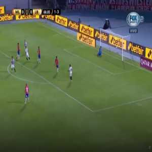 Jorge Wilstermann 0-1 Libertad [1-4 on agg.] - Oscar Cardozo 67'