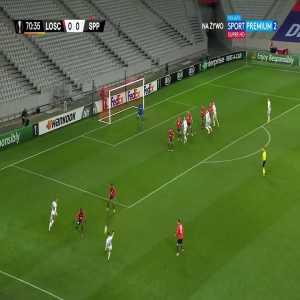 Lille 0-1 Sparta Praha - Ladislav Krejčí 71'