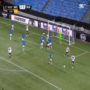 Molde 3-[1] Dundalk - Jordan Flores 90'+4'