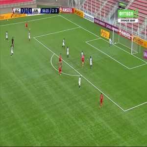 Unión La Calera [2]-1 Junior [3-3 on agg.] - Christian Vilches 59'