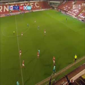 Barnsley 0-1 Bournemouth - Philip Billing 12'