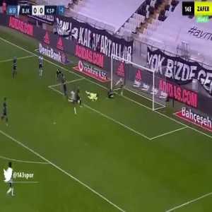 Beşiktaş 1-0 Kasımpaşa - Mensah 45'+2'