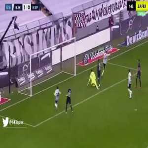 Beşiktaş 2-0 Kasımpaşa - Atiba Hutchinson 68'
