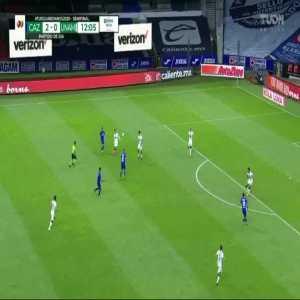 Cruz Azul 3-0 Pumas - Luís Romo 13'