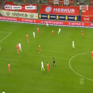 Fortuna Düsseldorf 0-1 Darmstadt - Serdar Dursun 50'
