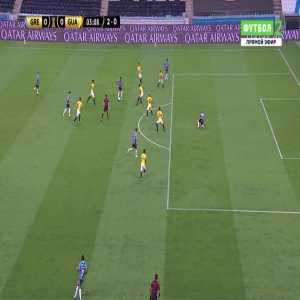 Gremio 1-0 Guarani [3-0 on agg.] - Patrick 3'