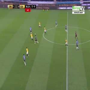 Gremio 2-0 Guarani [4-0 on agg.] - Rodrigues 90'+7'