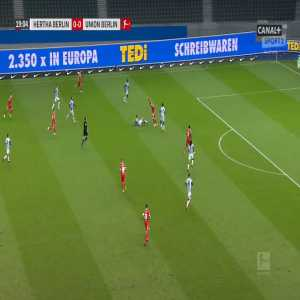 Hertha 0-1 Union Berlin - Taiwo Awoniyi 20'