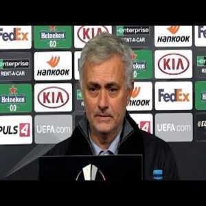 LASK 3-3 Tottenham - Jose Mourinho - Post Match Press Conference - Europa League