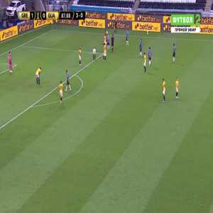 Miguel Benitez (Guarani) straight red card against Gremio 88'