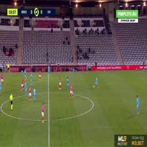 Nîmes 0-1 Marseille - Dario Benedetto 57'