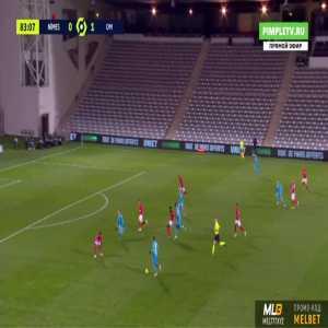 Nîmes 0-2 Marseille - Valere Germain 84'