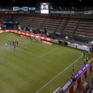 Sparta Rotterdam 1-[1] FC Emmen - Miguel Araujo 52'