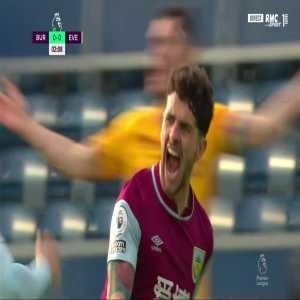 Burnley [1] - 0 Everton - Robbie Brady 3'