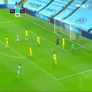 Manchester City [1] - 0 Fulham - Raheem Sterling 5'